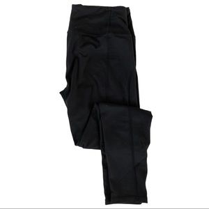 Victoria's Secret Full Length Leggings Black Sz L